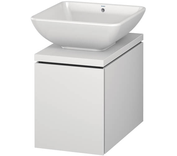 Duravit L-Cube 320mm Single Drawer Wall Hung Vanity Unit For Console
