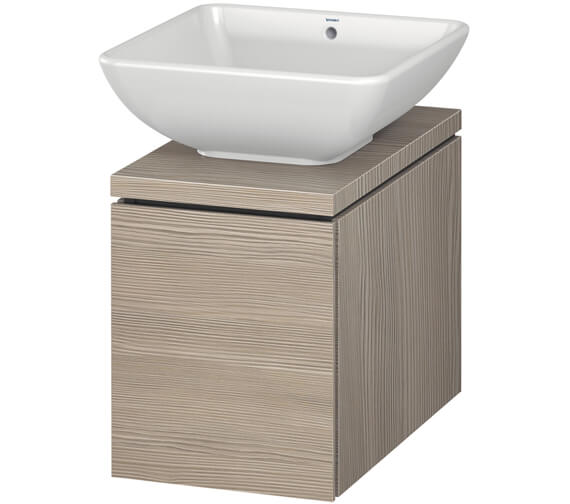 Additional image of Duravit L-Cube 320mm Single Drawer Wall Hung Vanity Unit For Console