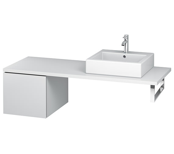 Duravit L-Cube 420mm Single Drawer Floor Standing Vanity Unit For Console