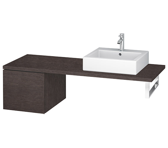 Alternate image of Duravit L-Cube 420mm Single Drawer Floor Standing Vanity Unit For Console
