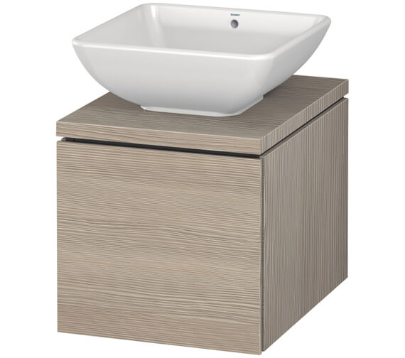 Additional image of Duravit L-Cube 420mm Single Drawer Wall Hung Vanity Unit For Console