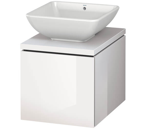 Alternate image of Duravit L-Cube 420mm Single Drawer Wall Hung Vanity Unit For Console
