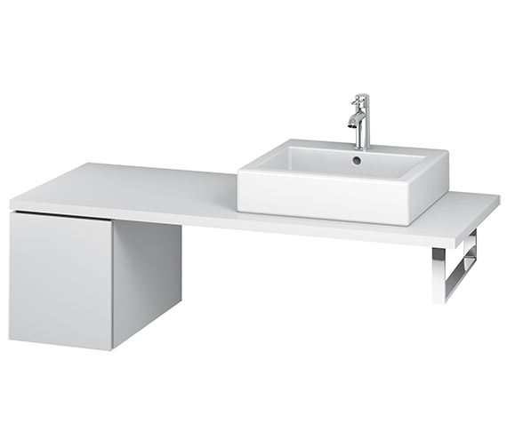 Duravit L-Cube 320mm Single Drawer Floor Standing Vanity Unit For Console