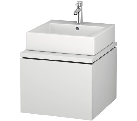 Duravit L-Cube 520mm Single Drawer Wall Hung Vanity Unit For Console