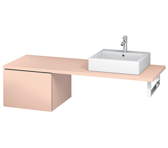 Alternate image of Duravit L-Cube 520mm Single Drawer Floor Standing Vanity Unit For Console
