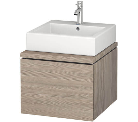 Additional image of Duravit L-Cube 520mm Single Drawer Wall Hung Vanity Unit For Console