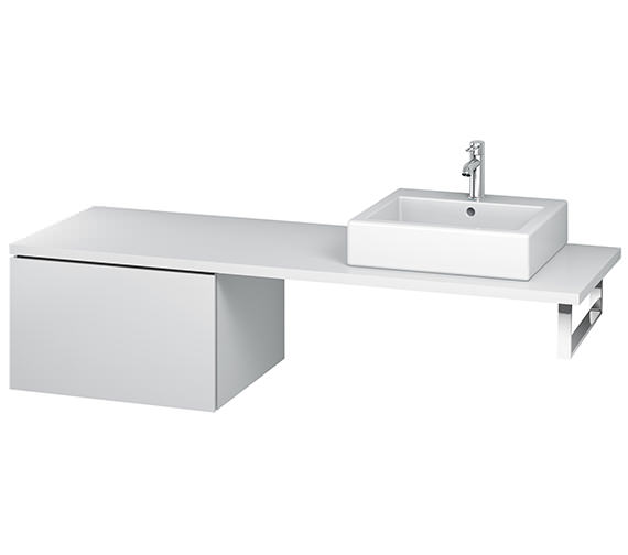 Duravit L-Cube 620mm Single Drawer Floor Standing Vanity Unit For Console