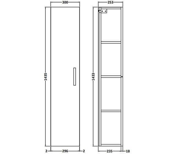 Technical drawing QS-V89287 / MOE161