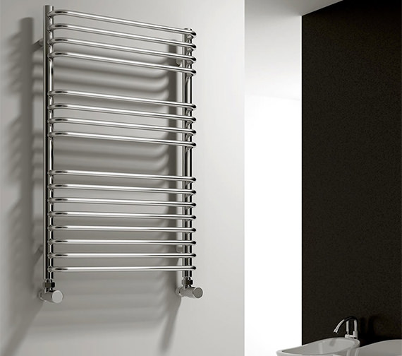 Reina Isaro 500mm Wide Chrome Designer Radiator