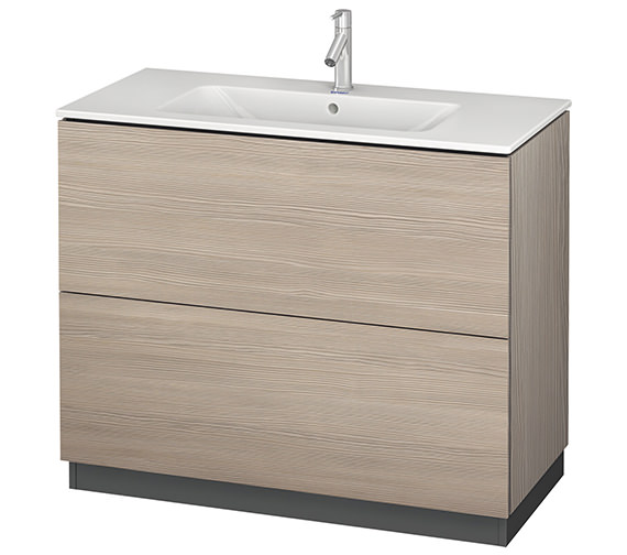 Additional image of Duravit L-Cube 1020mm Vanity Unit With Me By Starck Basin