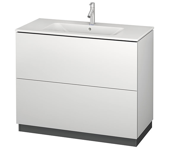 Duravit L-Cube 1020mm Vanity Unit With Me By Starck Basin