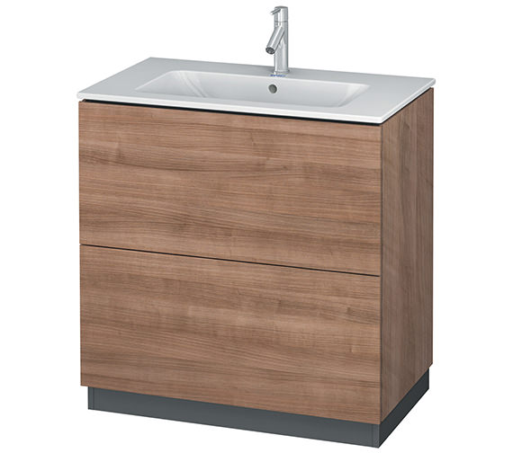 Alternate image of Duravit L-Cube 820mm Vanity Unit With Me By Starck Basin
