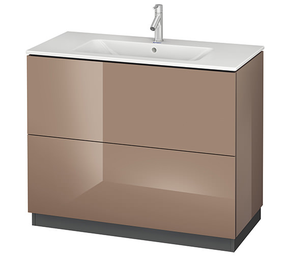 Alternate image of Duravit L-Cube 1020mm Vanity Unit With Me By Starck Basin