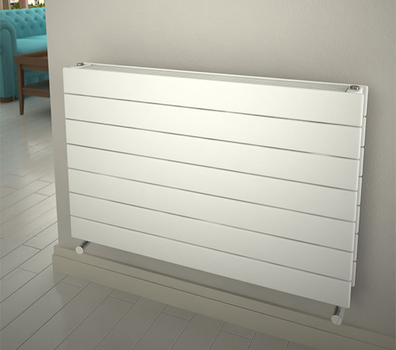 Reina Flatco Type 22 Steel 588mm High Designer Radiator In White Or Anthracite Finish