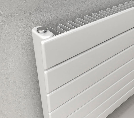 Additional image of Reina Flatco Type 11 Steel 588mm High Designer Radiator In White Or Anthracite Finish
