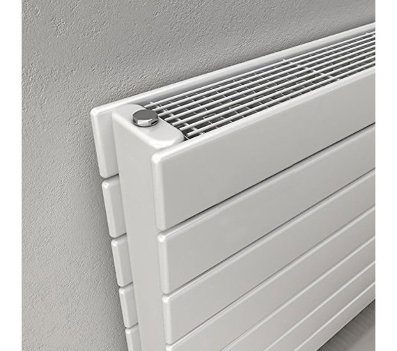 Alternate image of Reina Flatco Type 22 Steel 588mm High Designer Radiator In White Or Anthracite Finish