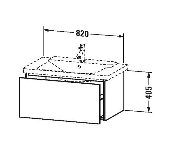 Technical drawing QS-V63338 / LC614701818