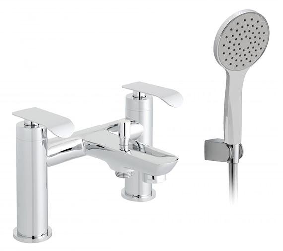 Vado Kovera 2 Hole Bath Shower Mixer Tap With Kit