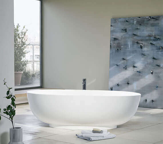 Clearwater Puro Clearstone Freestanding Bath 1700 x 750mm