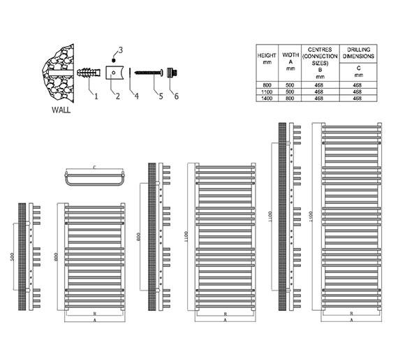 Technical drawing QS-V81082 / RND-MC5080