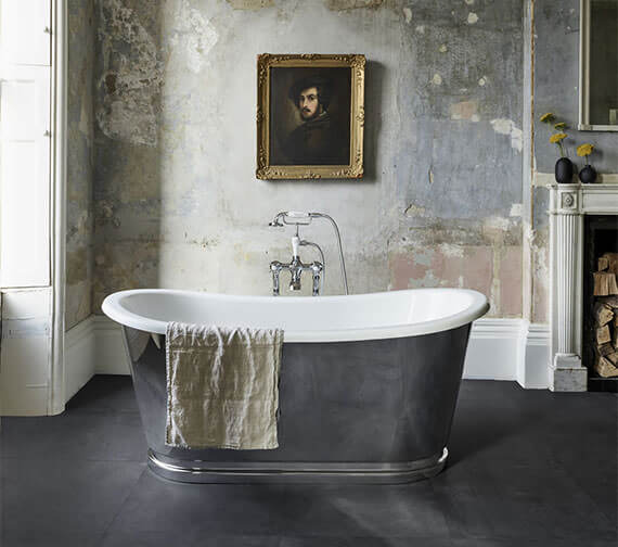 Clearwater Balthazar 1675 x 761mm Clearstone Freestanding Bath