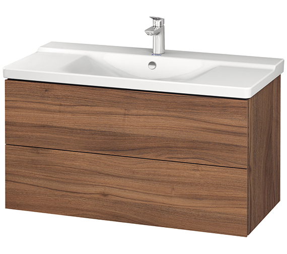 Alternate image of Duravit L-Cube 1020mm Wall Mounted Vanity Unit With P3 Comforts Basin