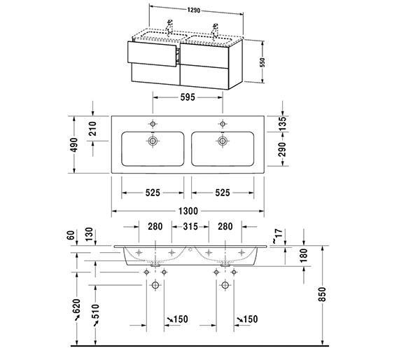 Technical drawing QS-V63780 / LC625901818