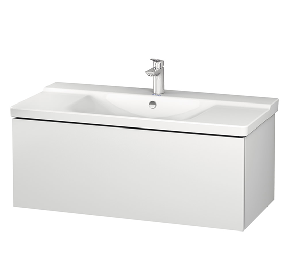 Duravit L-Cube 1020 x 481mm 1 Drawer Wall Mounted Vanity Unit