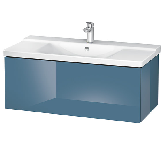 Alternate image of Duravit L-Cube 1020 x 481mm 1 Drawer Wall Mounted Vanity Unit