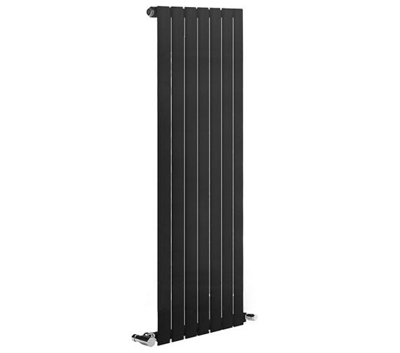Reina Neva 1500mm High Single Panel Vertical Designer Radiator Anthracite Or White 236mm Wide