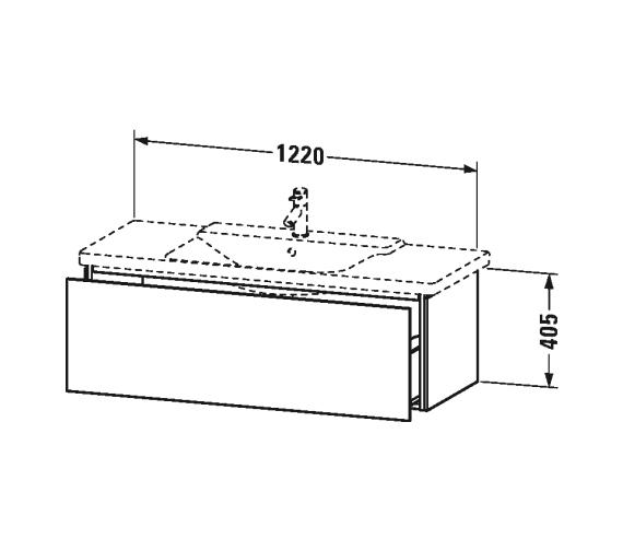 Technical drawing QS-V63340 / LC615301818