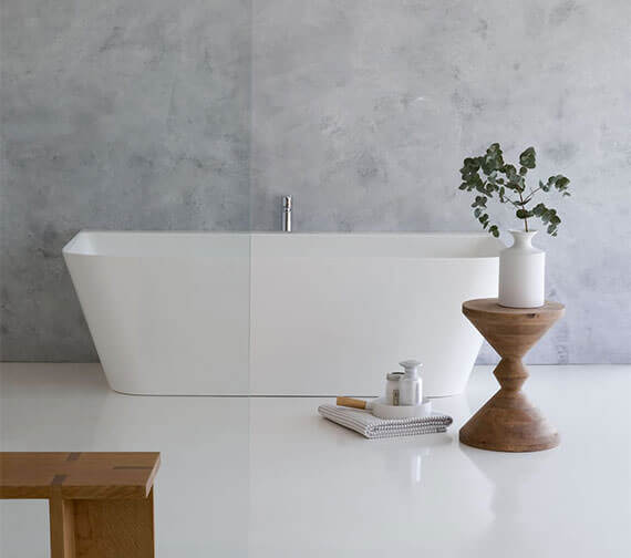 Clearwater Patinato Grande ClearStone Freestanding Bath 1690 x 800mm