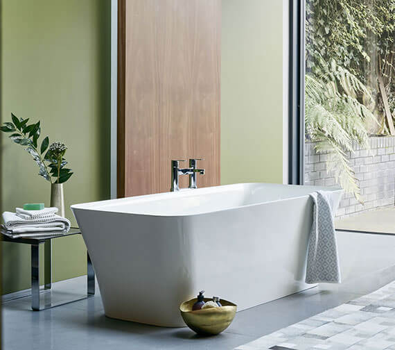 Clearwater Palermo Grande ClearStone Freestanding Bath 1790 x 750mm