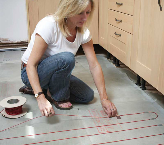 Additional image of Warmup Loose Wire Underfloor Heating Electric System