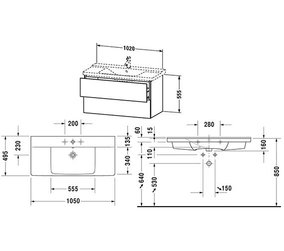 Technical drawing QS-V63343 / LC625001818