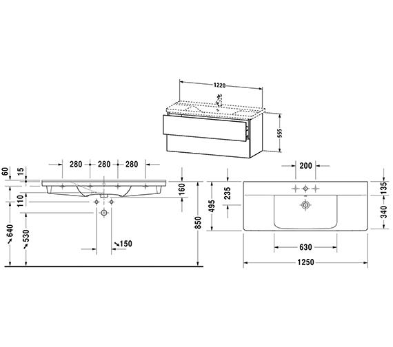 Technical drawing QS-V63344 / LC625301818