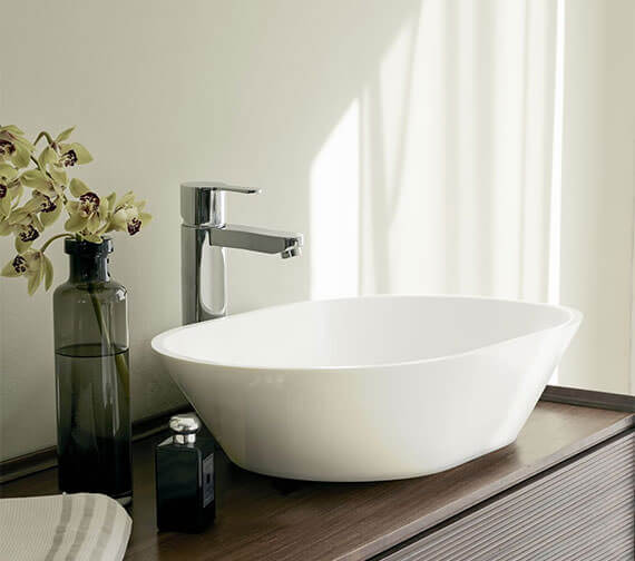 Clearwater Sontouso ClearStone Countertop Basin 550 x 350mm