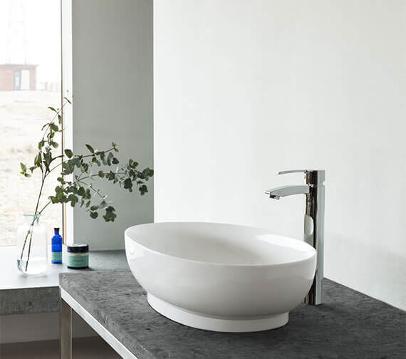 Clearwater Puro ClearStone Countertop Basin 550 x 350mm