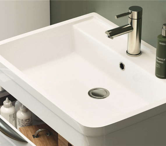 Additional image of Premier Parade 600mm 2 Drawer Floor Standing Cabinet And Basin