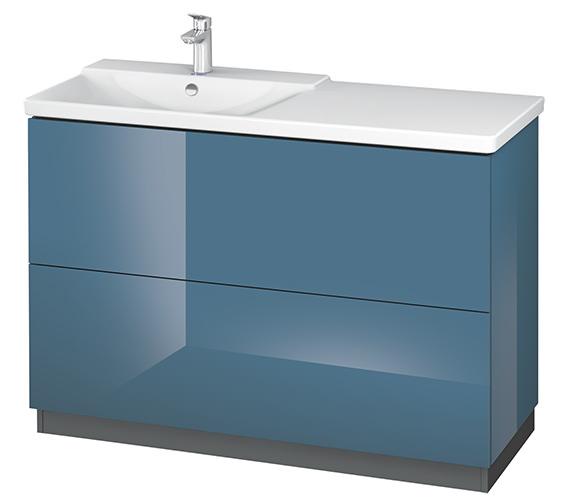Alternate image of Duravit L-Cube 1220mm Floor Standing Vanity Unit With Plinth Panel