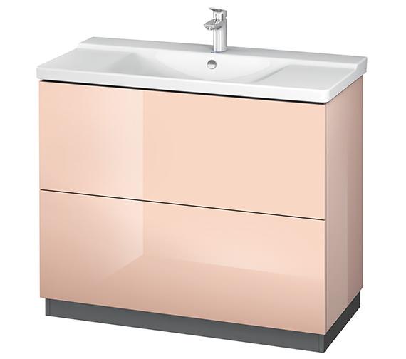 Alternate image of Duravit L-Cube 1020mm Floor Standing Vanity Unit With Plinth Panel