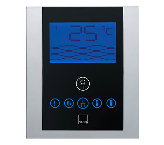 Vado Identity Thermostatic Valve With Diverter And Digital Control Panel