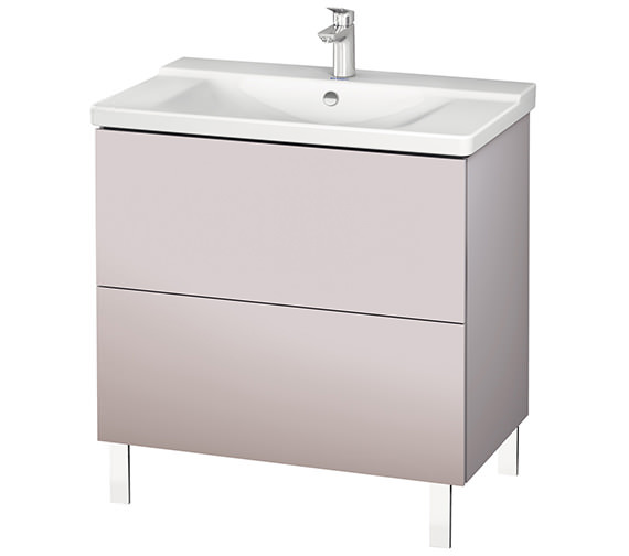 Alternate image of Duravit L-Cube 820mm Floor Standing Vanity Unit