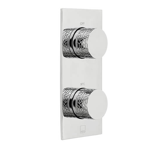 Vado Omika 1 Outlet And 2 Handle Vertical Concealed Thermostatic Valve