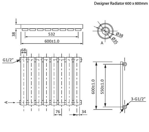 Technical drawing QS-V78355 / RA041