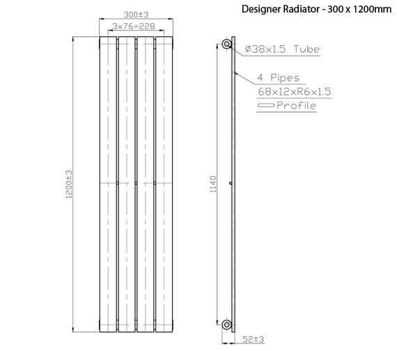 Technical drawing QS-V21341 / RA043