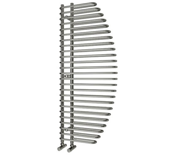 Reina Nola 600 x 1400mm Chrome Steel Designer Radiator