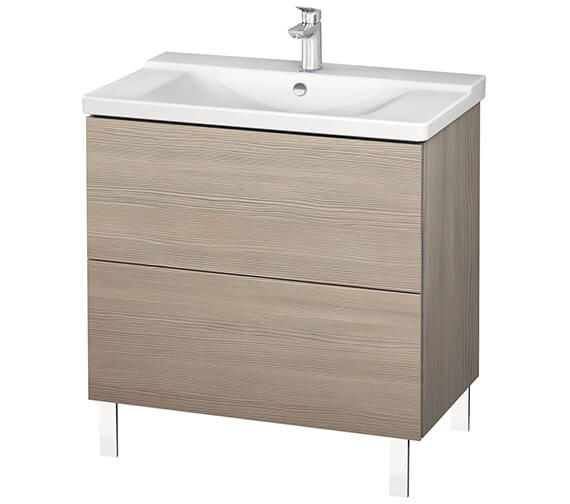 Additional image of Duravit L-Cube 820mm Floor Standing Vanity Unit