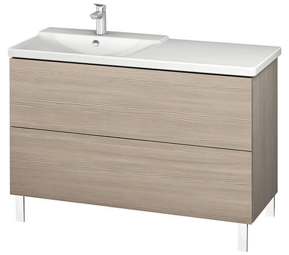 Additional image of Duravit L-Cube 1220mm Floor Standing Vanity Unit