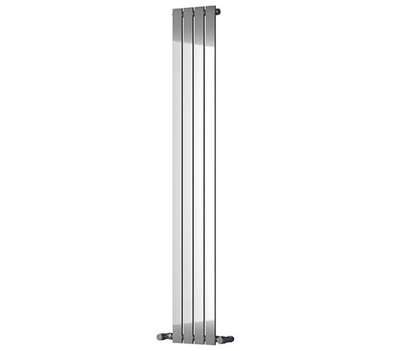 Reina Osimo 290 x 1800mm Chrome Steel Designer Radiator - More Width Sizes Available